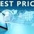 melhor · preço · garantir · garantia · vermelho · cera · selar - foto stock © mazirama