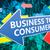 negócio · consumidor · 3d · render · ilustração · texto · preto - foto stock © mazirama