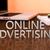 を · 広告 · 文字 · 木製 · デスク · ラップトップコンピュータ - ストックフォト © Mazirama