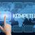 szó · kompetencia · interfész · világtérkép · kék · kommunikáció - stock fotó © mazirama