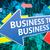 頭字語 · b2b · ビジネス · 書かれた · チョーク · 黒板 - ストックフォト © mazirama