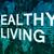 sağlıklı · yaşam · metin · mavi · dünya · haritası · sosyal · simgeler - stok fotoğraf © mazirama