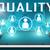wysoki · wydajność · cyfrowe · niebieski · kolor · tekst - zdjęcia stock © mazirama