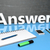 questions · réponses · tableau · lettres · écrit · école - photo stock © mazirama