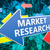 markt · onderzoek · groene · pijl · pijlen · grijs - stockfoto © mazirama