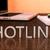 hotline · tekst · mobiele · bureau · 3d · render - stockfoto © mazirama