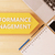 rendimiento · gestión · texto · pizarra · cuaderno · plumas - foto stock © mazirama