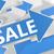 Стрелки · продажи · зеленый · пространстве · синий · цвета - Сток-фото © mazirama
