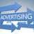 publicidade · tornar · azul · negócio · internet - foto stock © Mazirama