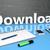 descargar · ahora · aplicaciones · móviles · software · 3d - foto stock © mazirama