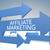 marketing · tornar · azul · internet - foto stock © Mazirama