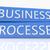 negócio · automação · verde · seta · slogan · cinza - foto stock © mazirama