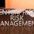empresa · gestão · de · risco · mão · botão · interface - foto stock © mazirama