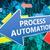 folyamat · automatizálás · szöveg · modern · laptop · képernyő - stock fotó © mazirama