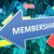 lidmaatschap · 3d · render · Blauw · witte · pijlen · vliegen - stockfoto © mazirama