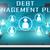 dívida · gestão · plano · linear · texto · seta - foto stock © mazirama