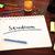Text · Tafel · Notebook · Stifte · Handy · 3d · render - stock foto © mazirama
