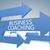 üzlet · edzés · nyilak · szöveg · 3D · vezetőség - stock fotó © mazirama