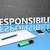 sosyal · sorumluluk · bulmaca · iş · eğitim · kutu - stok fotoğraf © mazirama