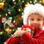izgatott · fiatal · srác · karácsonyfa · fa · portré · fiú - stock fotó © mblach