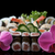 sushis · noir · alimentaire · poissons · asian - photo stock © mblach