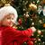 pequeño · nino · árbol · de · navidad · sombrero · árbol - foto stock © mblach