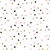 vintage hand drawn doodle seamless pattern with black pink and gold dots stock photo © mcherevan