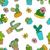 cacto · planta · decoração · arte · verão - foto stock © mcherevan