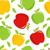 リンゴ · 赤いリンゴ · エンドレス · テクスチャ · 果物 - ストックフォト © mcherevan