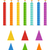 красочный · вектора · набор · вечеринка · счастливым - Сток-фото © mcherevan