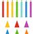 colorido · velas · de · cumpleaños · vector · establecer · fiesta · feliz - foto stock © mcherevan