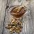 цветочный · меда · стекла · банку · деревянный · стол · жизни - Сток-фото © mcherevan