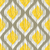 yellow white and grey rhomb seamless pattern in native ikat style stock photo © mcherevan