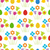 easter seamless pattern with eggs and flowers stock photo © mcherevan