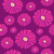 seamless pattern with purple gerbera flowers on dark background stock photo © mcherevan
