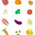 sütőtök · ikonok · stílus · vektor · terv · gyümölcs - stock fotó © mcherevan