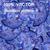 witte · steeg · blauwe · bloem · patroon · vector - stockfoto © mcherevan