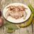 alho · cozinhar · carne · mesa · de · madeira · comida - foto stock © mcherevan