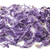 violet piece of australian sheep wool merino breed close up on a white background stock photo © mcherevan