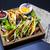 Mexicaanse · tortilla · vlees · rundvlees · groenten · gekruid - stockfoto © mcherevan