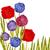 aquarel · dahlia · luxueus · tuin · bloem · geschilderd - stockfoto © mcherevan