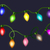 trillend · partij · guirlande · lichten · Rood · abstract - stockfoto © mcherevan