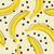 seamless stylish pattern with fresh yellow bananas in flat style bananas pattern for cloth textile stock photo © mcherevan