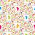 フライ · 昆虫 · シームレス · テクスチャ · 壁紙 · 抽象的な - ストックフォト © mcherevan