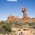kiegyensúlyozott · kő · egy · park · Utah · USA - stock fotó © mdfiles