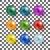 coleção · colorido · esferas · belo · conjunto - foto stock © Mediaseller