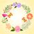 春 · カラフル · 花 · 蝶 · 抽象的な · 幸せ - ストックフォト © meikis