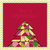 Noel · tebrik · kartı · geometrik · ağaç · mutlu · arka · plan - stok fotoğraf © meikis