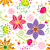 vektör · çiçek · pembe · çiçekler · doku · doğum · günü - stok fotoğraf © meikis