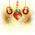 Christmas Ornament on Gold Color Background stock photo © meikis